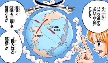 【速報】ワンピースのグランドラインの地図が公開されるwwwww